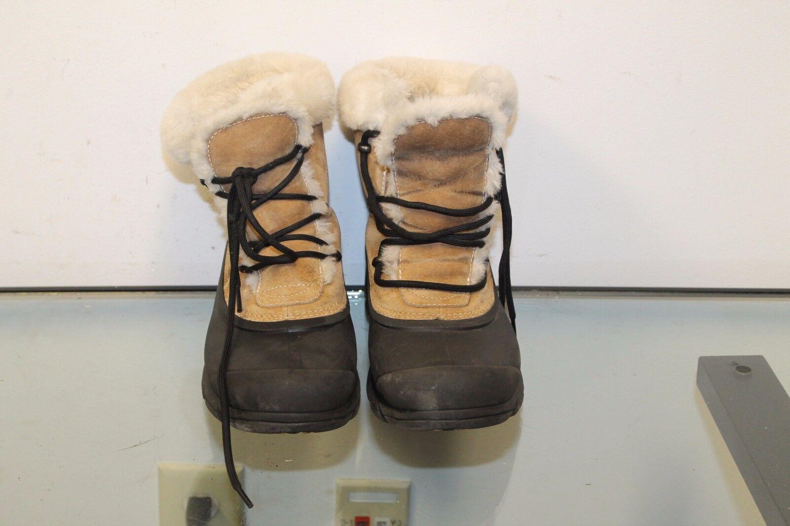 fino al 50% di sconto Sorel Snow Snow Snow Bird Ladies Suede Leather scarpe Thinsulate stivali Sports USA Dimensione 9.5  design unico