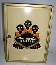 Seltener Machwitz Kaffee Schrank Blech Hannover Mohrenköpfe um 1950