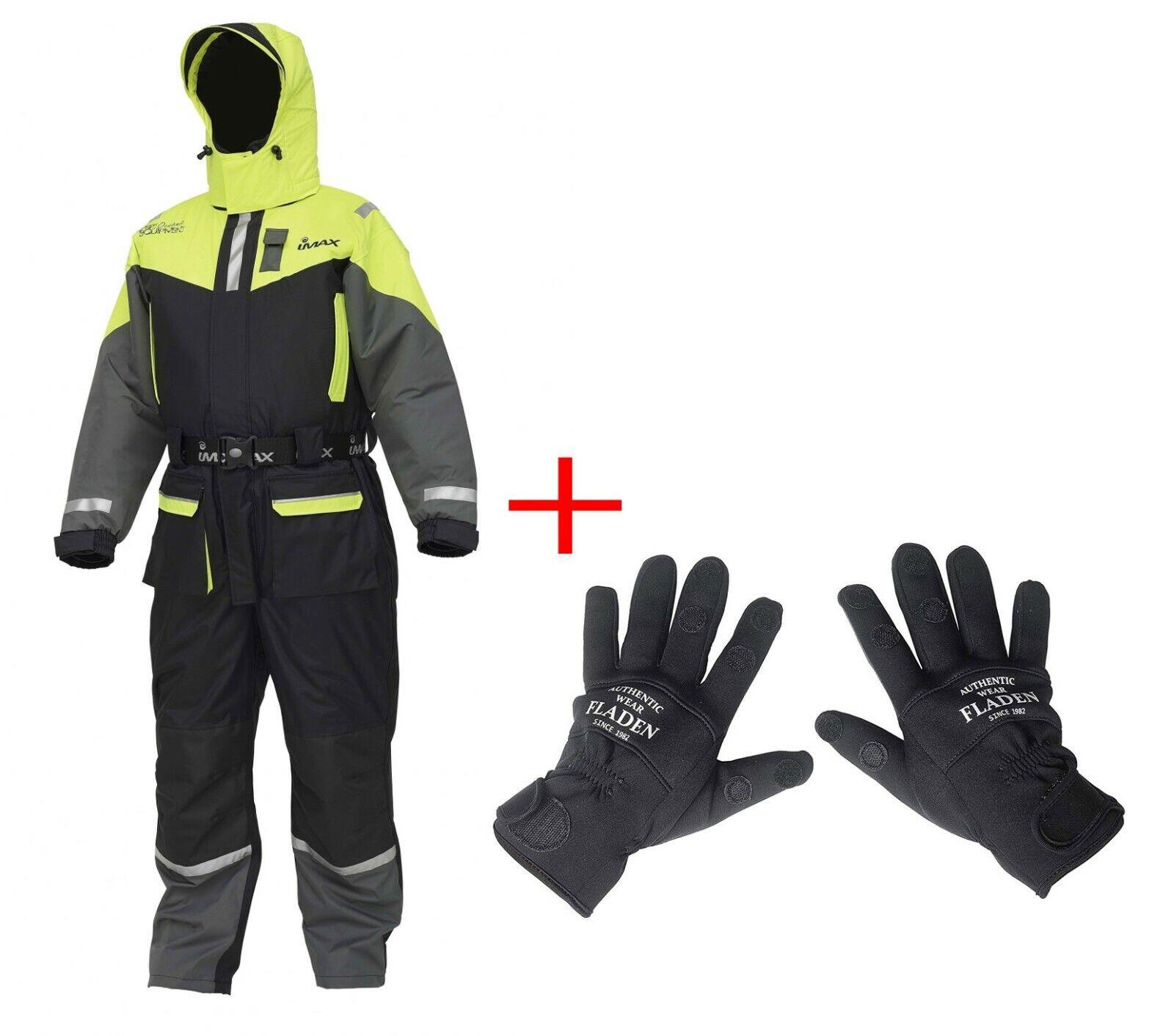 Imax Sea Wave Flotation Suit met GRATIS Neopreen handschoenen
