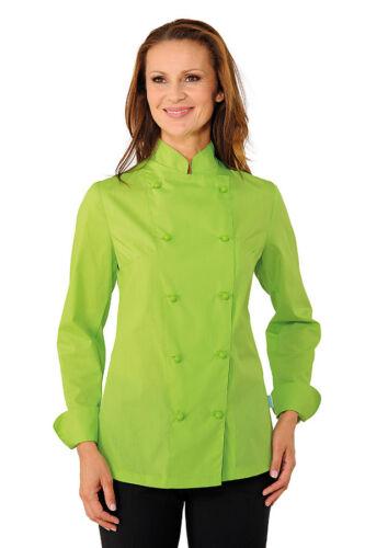 GIACCA CUOCO DONNA CHEF ISACCO LADY EXTRA LIGHT  MELA FEMMINILE shirt JACKET
