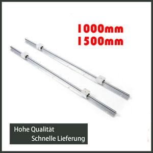 2X SBR16 1000//1500mm Linearführung Gleitschiene Welle /& 4X Linearblock SBR16UU
