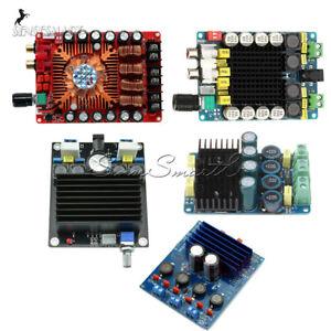 2x100W-2x160W-TDA7498-TDA7498E-Class-D-HIFI-Digital-Audio-Stereo-Amplifier-Board