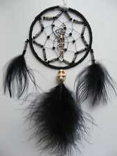 Hanging Skeleton MINI Dreamcatcher Home or Car Mirror Skull Gothic Goth Gift  UK