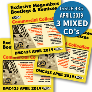 Details about DMC Commercial Collection Issue 435 Bootleg Remix & Megamix  DJ Triple Music CD