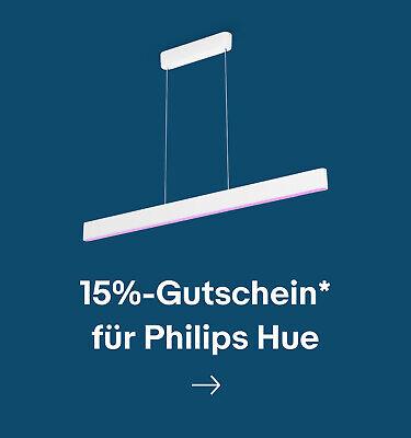 15%-Gutschein* für Philips Hue