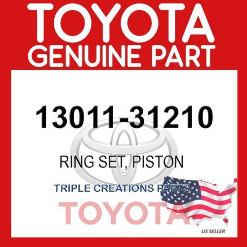 PISTON 13011-31210 OEM 1301131210 GENUINE Toyota RING SET