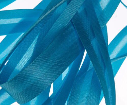 Volle Spule Seide Azetat Bias Einfassung 19mm Breit 25 Meter Farbauswahl