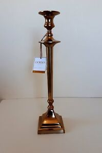Dorma Brass Metal Candlestick Classic Candelabra Candle Holder Polished Antiqu Ebay