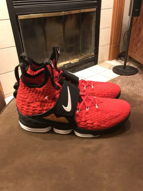 92614a1127 Nike Lebron 15 Primeknit Mens Size 14 Diamond Turf Deion Sanders Red $250  Shoes