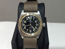 1945 ROLEX 3372 Oyster Perpetual OVETTO Bubble Back S/S & 18K Y/G 32mm! BEAUTY!