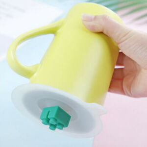 Am-KQ-HR-10cm-Useful-Anti-dust-Silicone-Glass-Cup-Cover-Mug-Suction-Seal-Lid