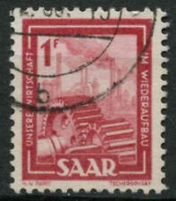 Saar 1949-51 SG#266, 1f Heavy Industries Definitive Used #A81209