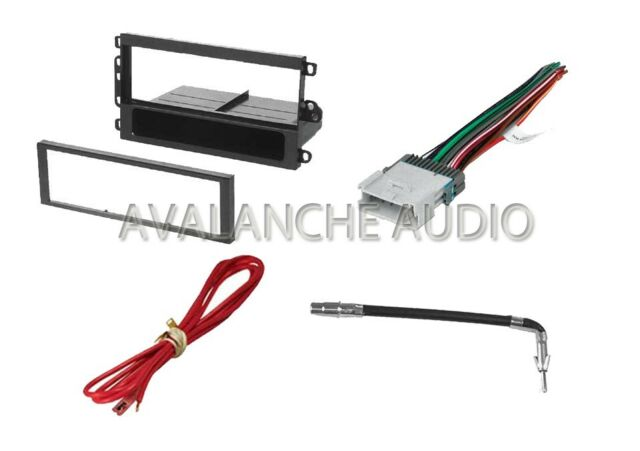 Car Stereo Single Din In Dash Trim Installation Kit For New CD Player Receiver