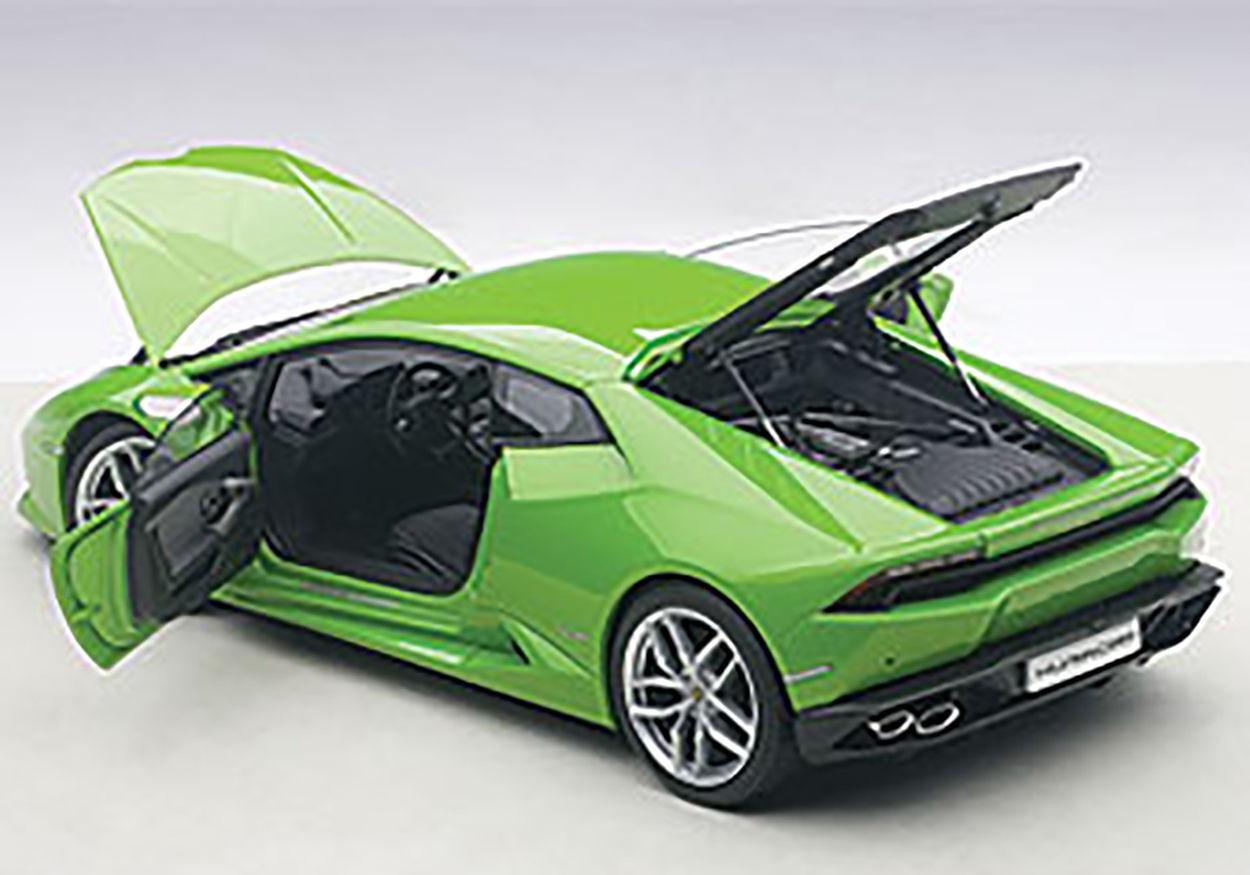 1 18 Autoart Lamborghini Huracan Huracán lp610-4 vert Mantis METALLIC PEARL