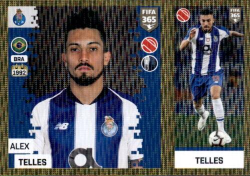 FC Porto Panini FIFA365 2019 Alex Telles Sticker 275 a//b