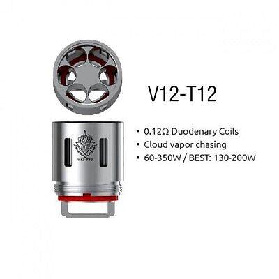 1-3PCS SMOK TFV12 Coil V12-Q4/X4/T6/T12/RBA for TFV12 Cloud Beast King Tank