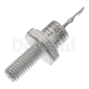 ECG5182AK NTE5182AK Zener Diode Philips ECG Component 7.5V ± 5% 10W K TO STUD