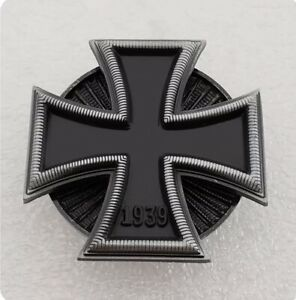 1939-German-Medal-Order-of-Iron-Cross-1st-Class-Brooch-Badge-Pin-Replica