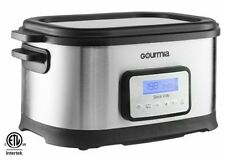 NEW Gourmia GSV-550 9 quart Sous Vide Water Oven Cooker with Digital Timer