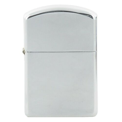 Chrome polished finish windproof metal cased fuel petrol lighter