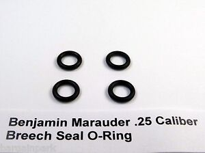 4 piece O Ring Breech Seal Kit for .25 Caliber Benjamin Marauder NEW