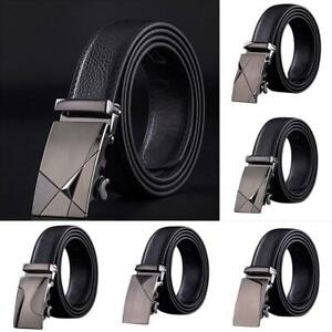 Men-Automatic-Buckle-Belt-PU-Leather-Belts-Waist-Business-L-Acessoary-Waist-Z5E9