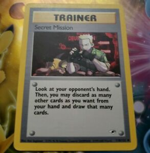SECRET-MISSION-118-132-Gym-Heroes-Uncommon-Pokemon-Card-2000-Good-Condition