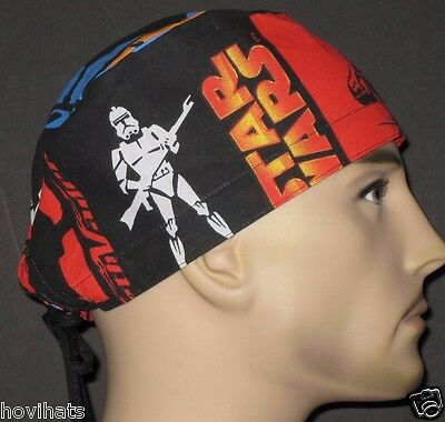 STAR WARS CLONE TROOPER SCRUB HAT / RARE / FREE CUSTOM SIZING!