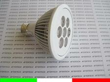 PAR30 E27 7w 30° LED 7x1W FARETTO LAMPADA SPOT BIANCO FREDDO LUCE 220V 230v