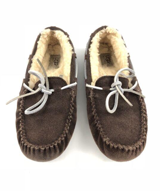 ce73cab89cc2fc UGG Australia Chester Driving Loafer Men's Chestnut Slipper 8M | eBay