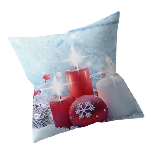 Christmas Style Cushion Cover  Pillow Case Square Throw Pillow Case