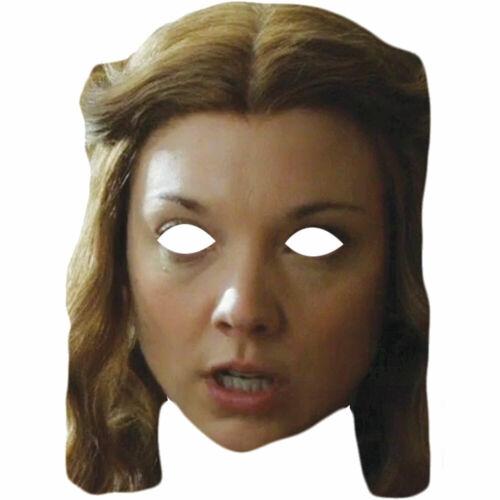 Natalie Dormer Game of Thrones Margaery Tyrell Célébrité Visage Masque Wholesale