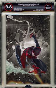 Miles-Morales-Spider-Man-19-SKAN-HOMAGE-ASM-300-EGS-9-8-not-CGC-TOD-MCFARLANE