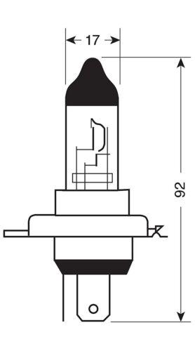 Vauxhall Astra Headlight Bulbs 1998-2002 499 H7 477 Dipped Beam