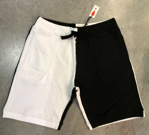 Top Play Clothes Split Sweat Shorts In Blk/Wht Sz. 3xl NWT 100% Authentic!! free shipping