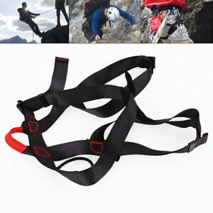 Outdoor Sports Climbing Harness Safety Harness Sit Waist Belt Roof Construction