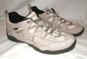 fb0dcf4a7e78 Ecco Goretex RECEPTOR TECHNOLOGY Tan Hiking Low Rise Boots Womens 9 ...