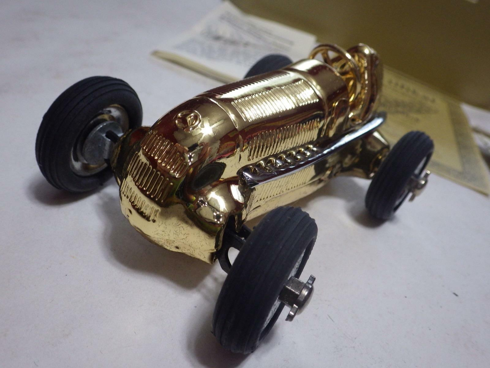 Schuco Millenium-Set (Germany) 3 gold-Plated 1936 Mercedes-Benz Mercedes-Benz Mercedes-Benz Racers NIB 9f042b