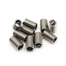 10pcs M8 X 125 X 3d Helicoil Insert Wire Thread Insert 304 Stainless Steel