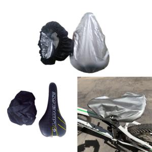 1pc Waterproof Bike Bicycle Seat Rain Cover Elastic Rain and Dust Resist NICA