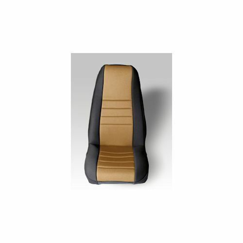 Jeep Wrangler Cj Yj 76-90 Front Seat Covers Pair Tan  X 13212.04