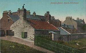 VINTAGE-JEANNIE-DEANS-039-HOUSE-POSTCARD-EDINBURGH-SCOTLAND-POSTCARD