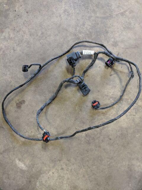 02 03 04 05 audi a4 sedan front bumper wire wiring harness fog ...  ebay