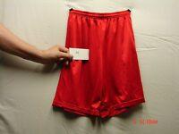 Alleson Sports Shorts - Medium - Red - 80185 - 100% Nylon