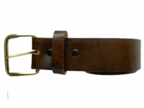 Men/'s Leather Dress Belt 1 3//8 sizes 46,48,50,52,54,56,58,60  !!!MADE IN USA!!!!