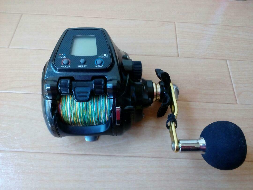 Daiwa S500J Electric Fishing Reel Tested Working Never Used  W Box Mint  for sale online