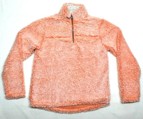 MANGEO VARIETY SIZE NEW CUDDLY SHERPA KID/'S QUARTER ZIP PULLOVER COLOR