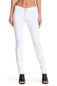 0 blanc 26 taille petit skinny Eileen taille haute Fisher Jean qwW60A