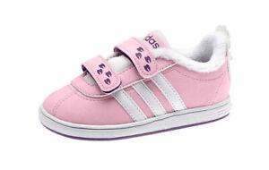 Details zu Adidas Kinder Sneaker Mädchen Schuhe SportTurnschuhe mit Fellfutter rosa Gr. 26
