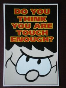 POSTCARD-B30-ADVERT-DENNIS-THE-MENACE-DO-YOU-THINK-YOU-ARE-TOUGH-ENOUGH